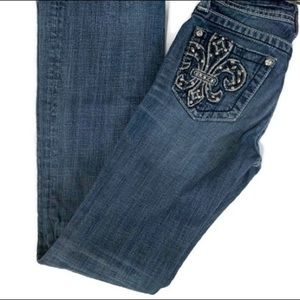 Miss Me Jeans Light Wash Bootcut 14